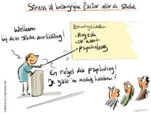 Cartoon stress als belangrijke factor (1)