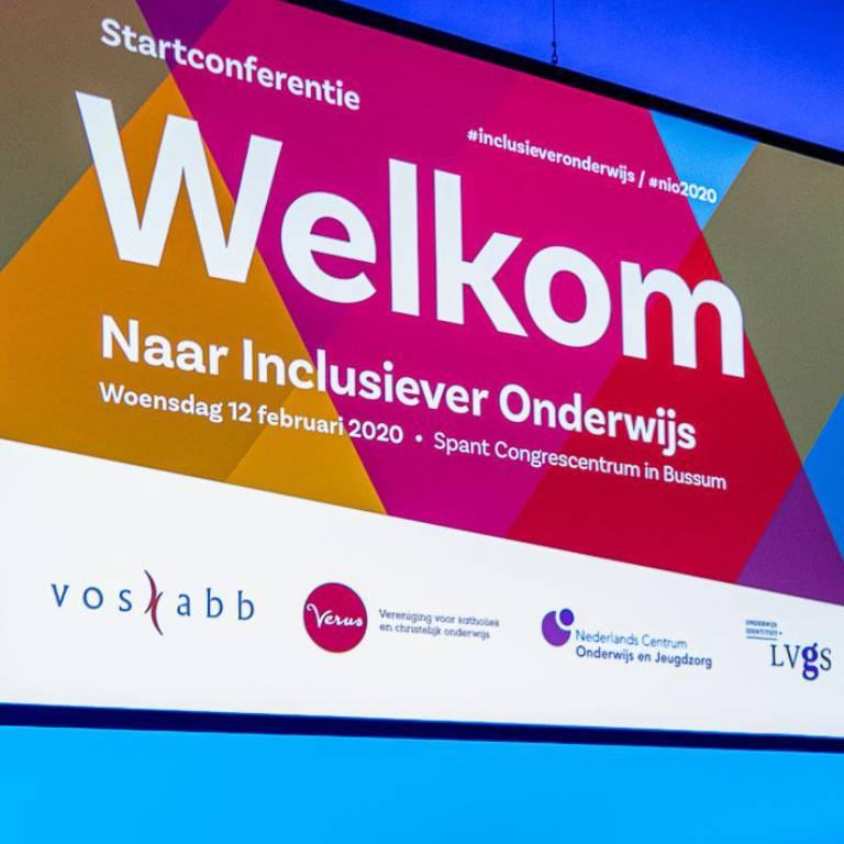 Terugblik startconferentie platform naar inclusiever onderwijs