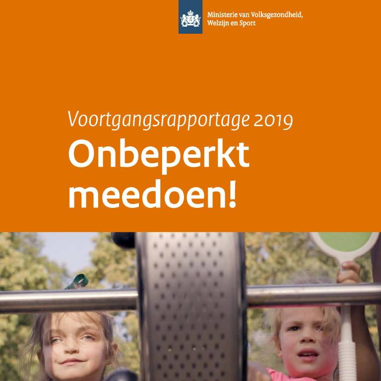 Voortgangsrapportage onbeperkt meedoen 2019