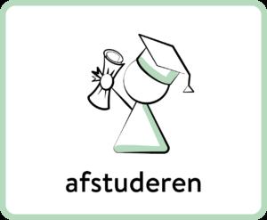 student met diploma